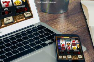 Casinos sur smartphone et sur ordinateur