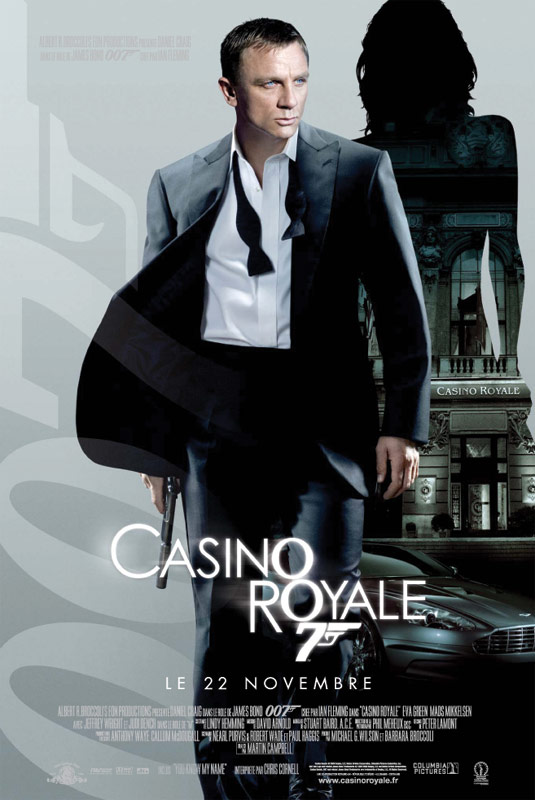 Casino Royale : un des meilleurs films James Bond sur le casino